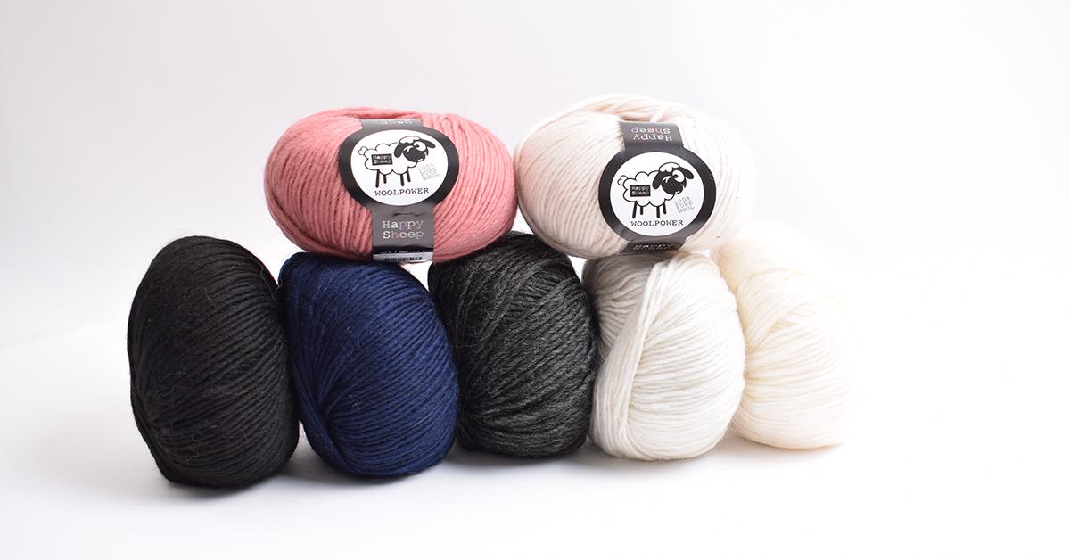 be8a61d9 I butikken vår finner du blant annet vårt Happy Sheep Woolpower, som er en  klassisk Worsted-kvalitet i 100 prosent ubehandlet ull – en favoritt blant  flere ...